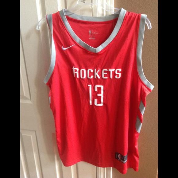 82eccf3de2a Houston Rockets Swingman James Harden Jersey, XL.  M_5c3cce9f035cf190f9e09839. Other Shirts you may like. NWOT Men's Nike Dri- Fit ...